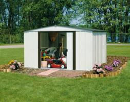 Garage Storage Shed Outdoor Garden Tools Barn Building Vinyl