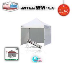 Gazebo Eurmax 8x12 Ez Pop Up 4 Wall Canopy Instant Outdoor P