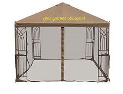 10'x10' Gazebo Canopy Party Wedding Tent Shelter Steel Patio