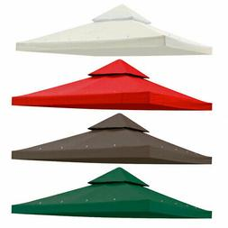 Gazebo Canopy Replacement Top Cover Patio Outdoor Sunshade G