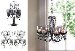 Gazebo Chandelier Outdoor Wall Sconces Set Of Two 6-Light Ca