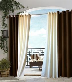 Outdoor Decor Gazebo Grommet Outdoor Curtain Panel