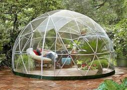 Garden Igloo Geodesic Dome Gazebo Greenhouse Patio Outdoor R
