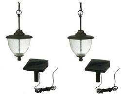 Paradise GL28649BK Solar-Powered LED Gazebo Pendant Light, B
