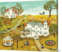 Grandma's Gazebo Canvas Wall Art Print,  Home Decor