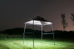 BBQ Grill Gazebo Barbecue Canopy Outdoor Metal Tent 2-Tier S