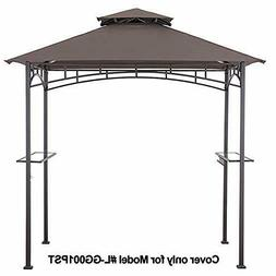 MASTERCANOPY Grill Gazebo Shelter Replacement Canopy Cover O