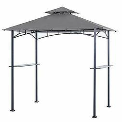 Grill Shelter Replacement Canopy Roof ONLY FIT for Gazebo Mo