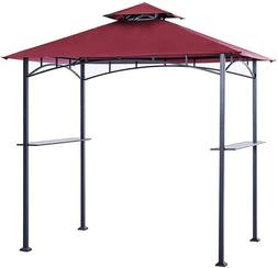 Grill Shelter Replacement Canopy Roof Only Fit For Gazebo Pa