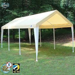 Hercules 9'8 H x 10'7 W x 20' D Canopy, Tan