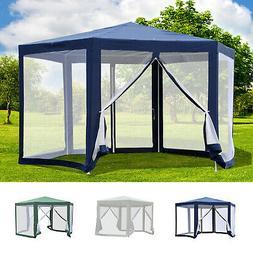 Hexagonal Patio Gazebo Outdoor Canopy Party Tent Activity Ev