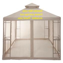 Home Outdoor Oasis 10'x10' Gazebo Netting Net. Brand NEW