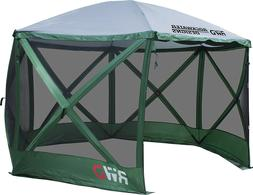 Rockwater Designs Insta-Flex Gazebo Screen Tent with Rain Fl