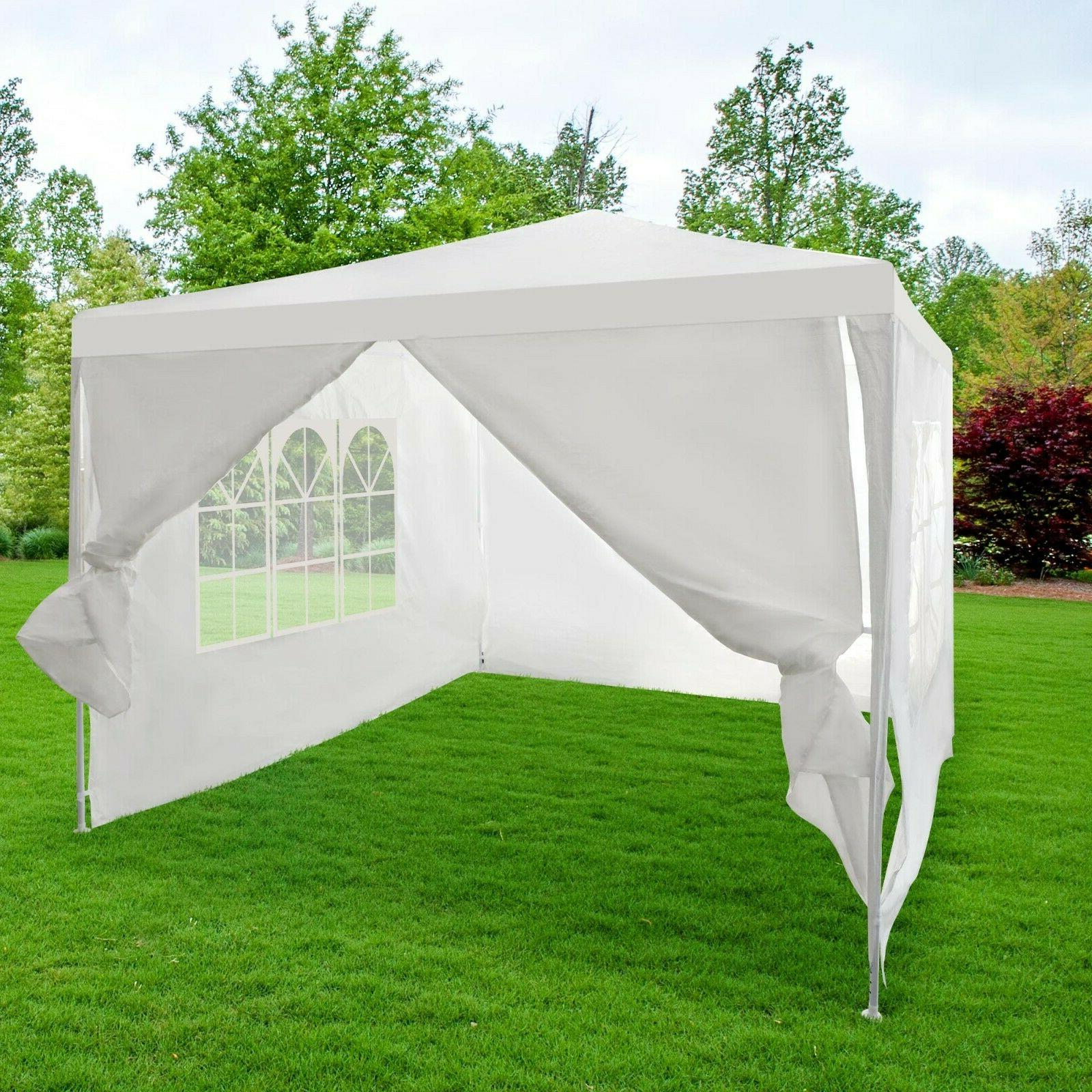 10' by Patio Sunshade Removable sides