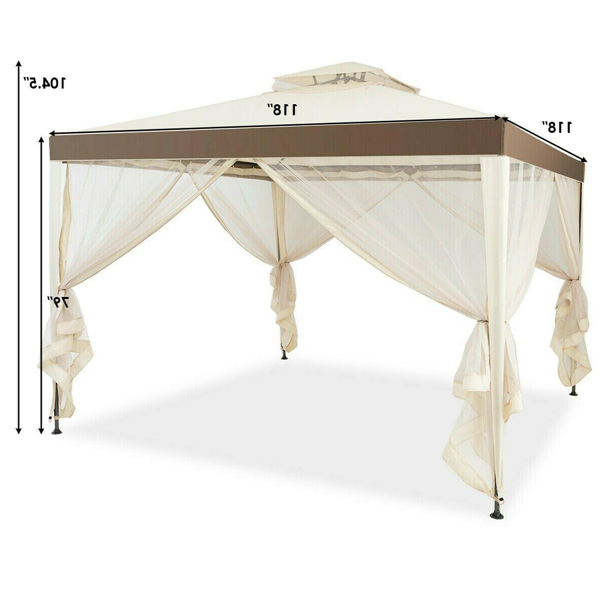Gazebo Netting Lawn Tent