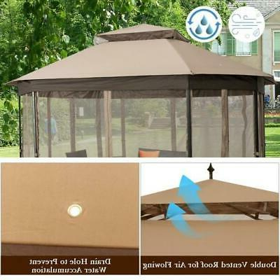 PremierWay 10' Octagonal With Screen Easy Install!