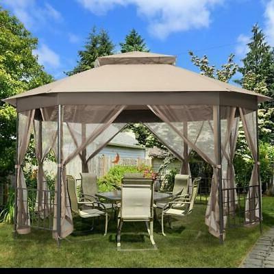 10 x 12 octagonal patio gazebo