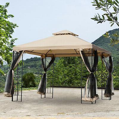 10 x10 steel fabric canopy pop up