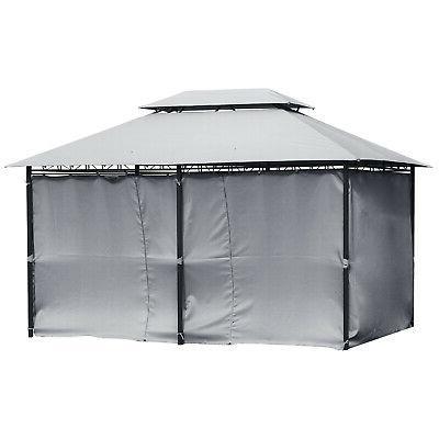 10'x13' Canopy Steel Gazebo Party