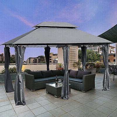10 x13 outdoor 2 tier vented canopy