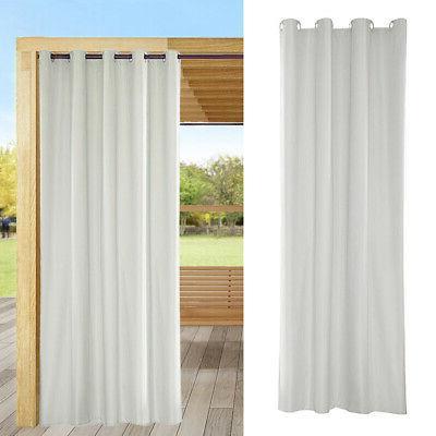 "10x Heat Outdoor Curtain Drape Patio 54x96"""
