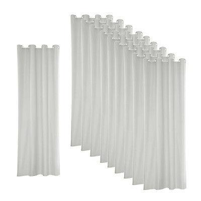 10x heat insulated grommet outdoor curtain drape