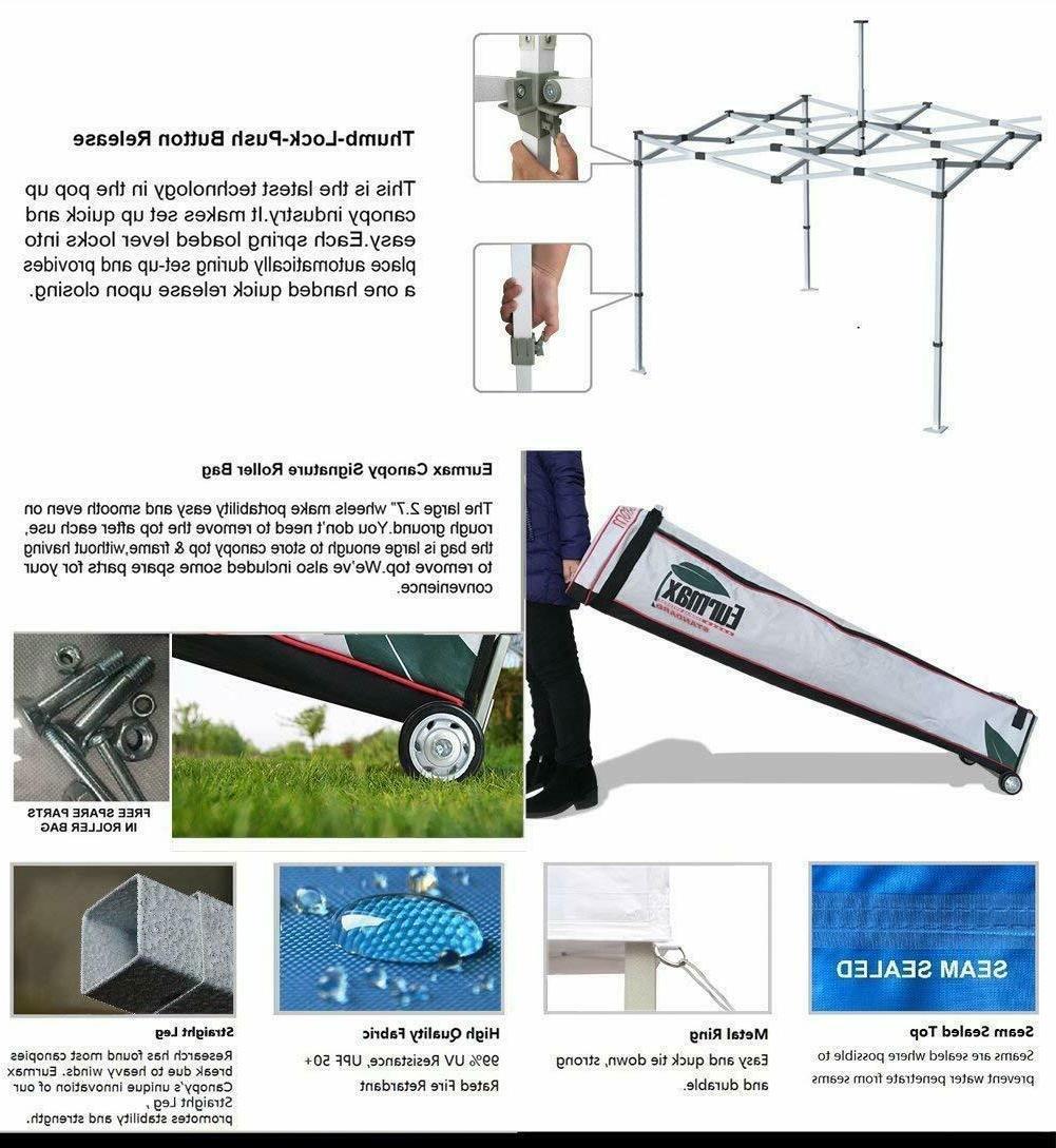 10X10 Ez Canopy Duty Patio Tent