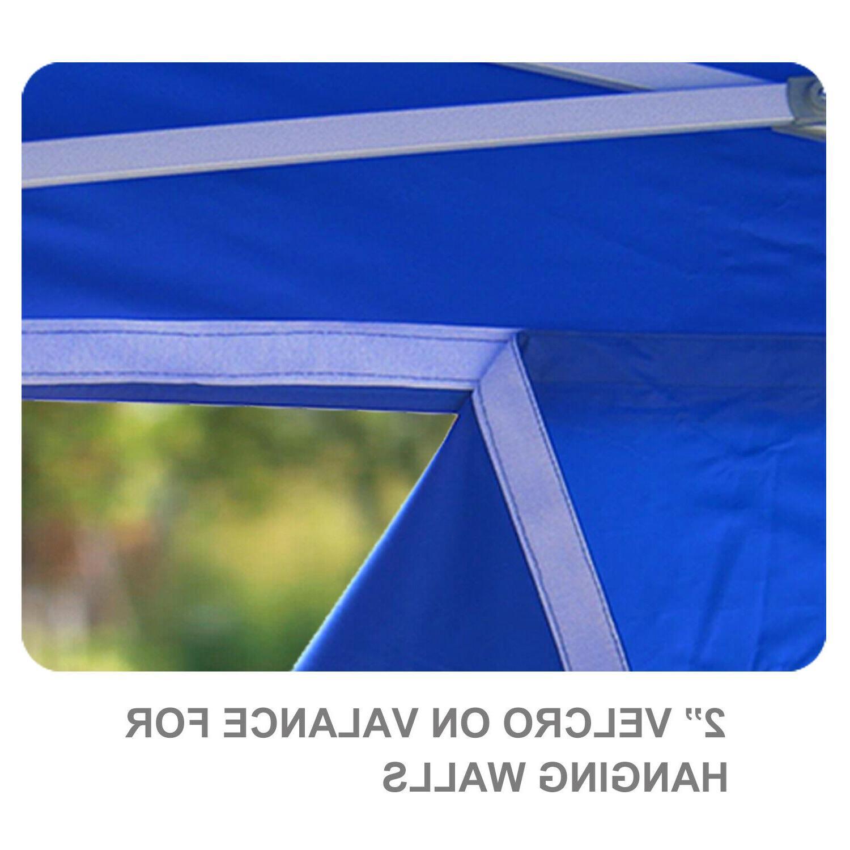 10X10 Canopy Heavy Commercial Patio Gazebo Instant Shade Tent
