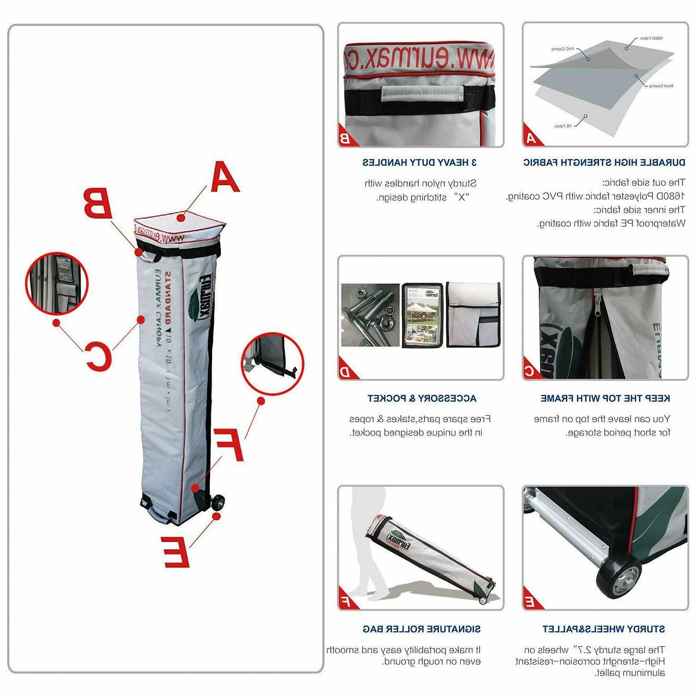 10X10 Canopy Heavy Patio Shade Tent