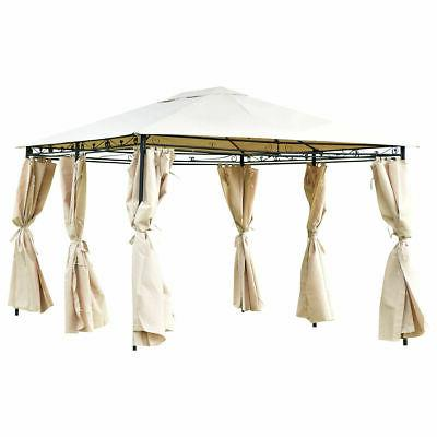10'x13' Canopy Patio Awning Walls