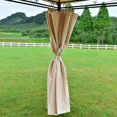 10'x13' Gazebo Patio Party Tent Awning Walls NEW