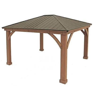 Yardistry 14' Cedar Roof @@