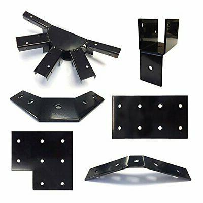 12075 gazebo roof kit black