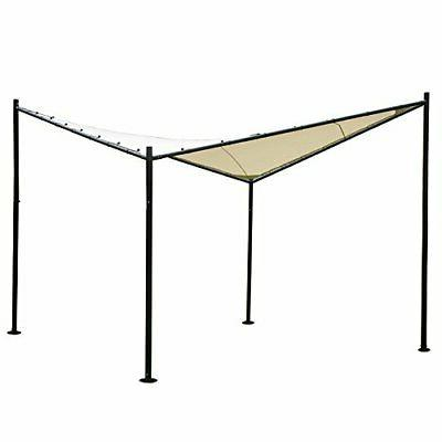 12x12ft outdoor patio gazebo canopy waterproof soft