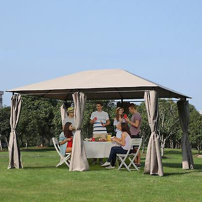 13 x 10 steel outdoor patio gazebo