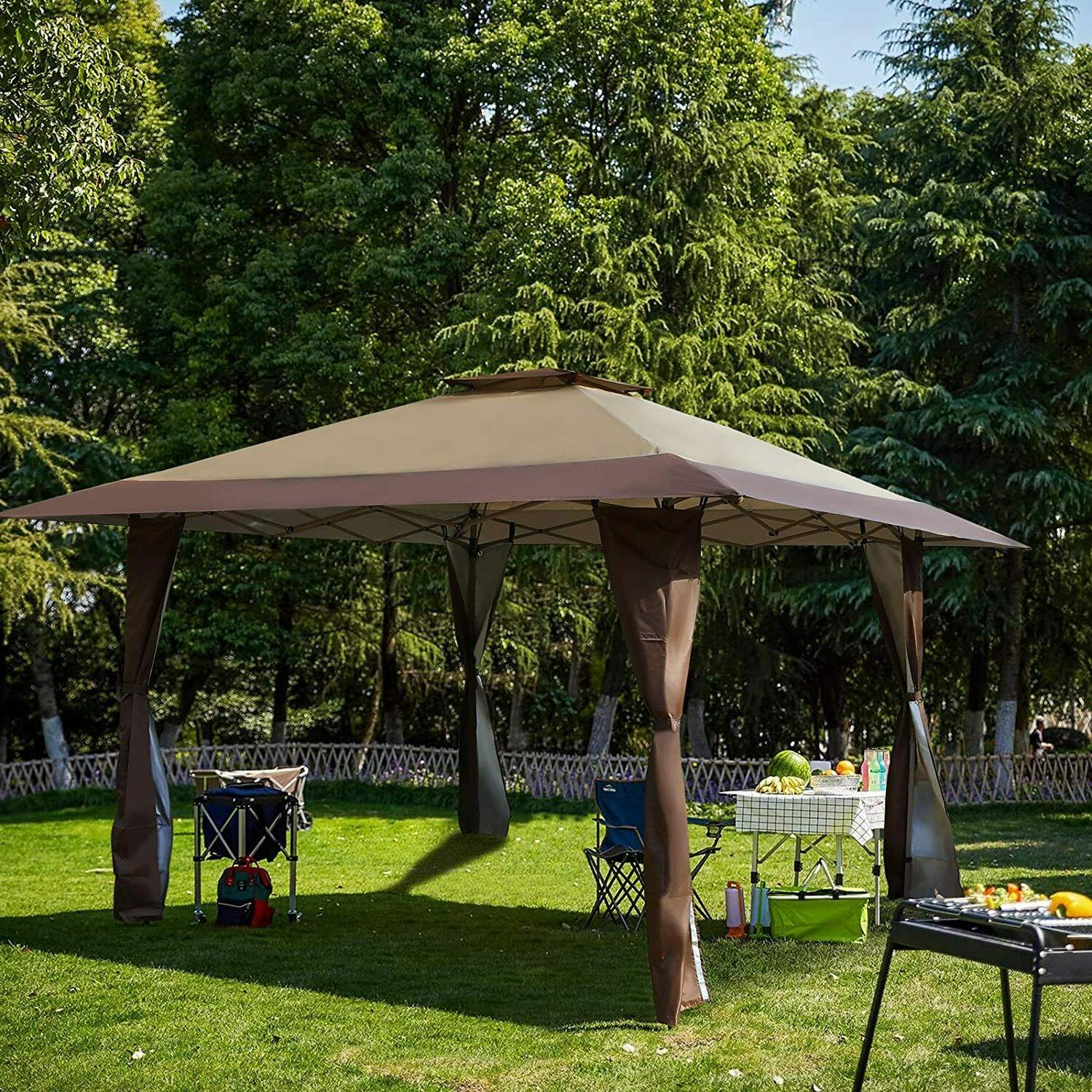 13' x13' UV Block Sun Shade Gazebo Patio/ Garden