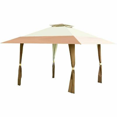 13'x13' Folding Canopy Shelter Tent Patio Garden Companion