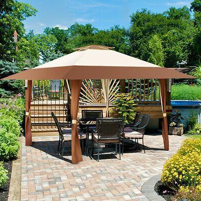 13'x13' Folding Canopy Shelter Garden Outdoor