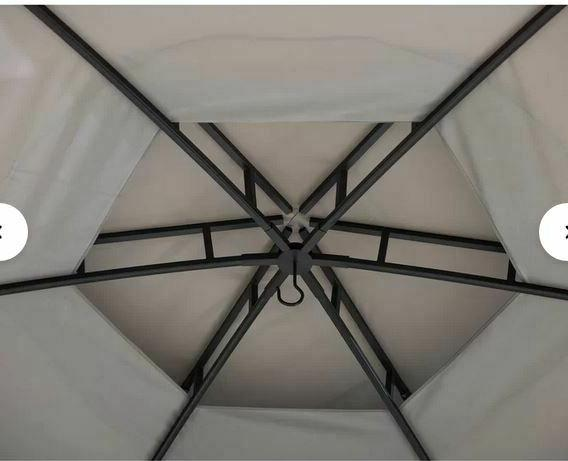 Sunjoy 15 x Steel Patio roof,Mesh