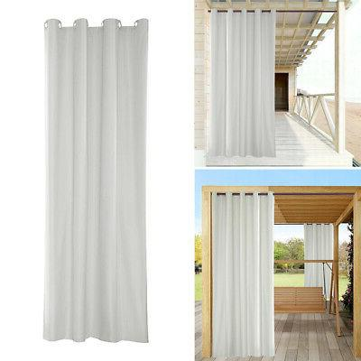 "3x Outdoor Curtain for Patio Gazebo Pergola 54x96"""