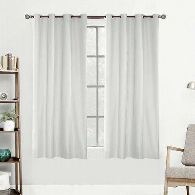 3x Outdoor Curtain Drape