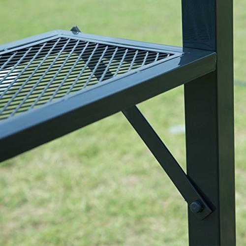 FDW 8'x 5'BBQ Gazebo Barbecue Grill Tent w/Air