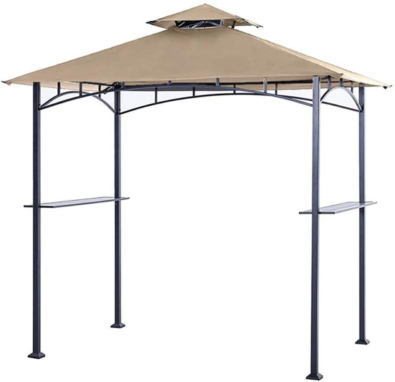 8 x 5 grill shelter replacement all