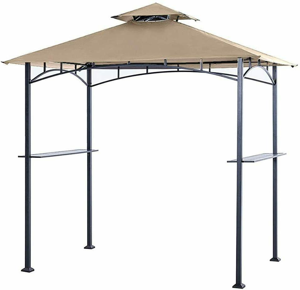 8 x 5 grill shelter replacement canopy