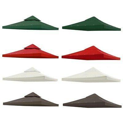 8x8 10x10 12x12 gazebo top canopy replacement