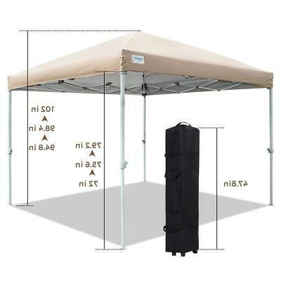 8x8 ft ez pop up canopy