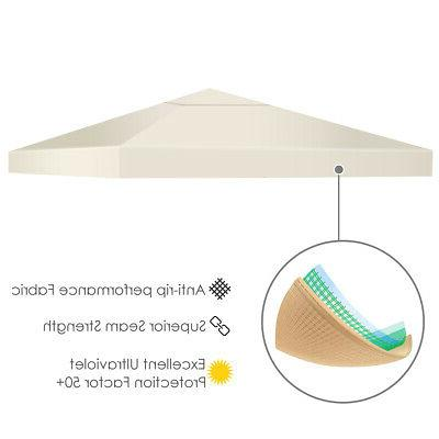 9.8' 9.8' Top Canopy Replacement or 2-Tier 3 Color