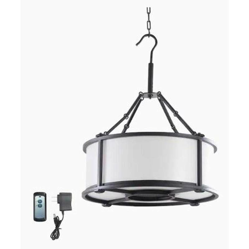 allen roth black modern contemporary battery operated