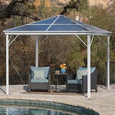 bailey outdoor 10 ft aluminum gazebo
