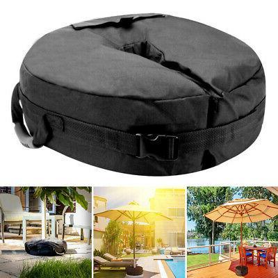 canopy sand bag oxford black base gazebo